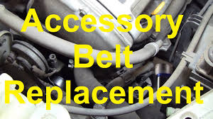 how to change the serpentine accessory belt on a nissan maxima how to change the serpentine accessory belt on a nissan maxima altima etc