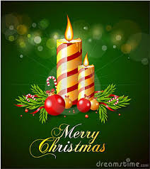 Xmas Greeting Card Designs Christmas Card Template With Text Vector