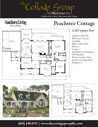Cottage Design Plans Peachtree Cottage The Cottage Group Southern Living