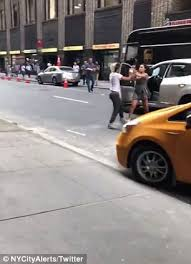 Female NYC cab driver charged in road rage brawl after shocking ...