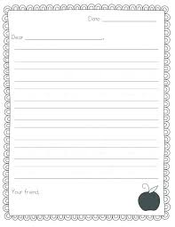 Kindergarten Lined Paper Template Poetry Paper Template Leaf Template With Writing Lines Printable