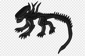 alien isolation drawing xenomorph