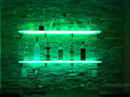 wall mounted led shelves liquor shelf australia floating bar