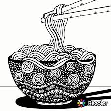 Noodles To Color Recolor App