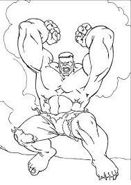 Hulk Da Colorare 33