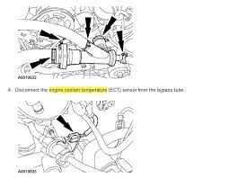 Ford Escape Coolant Leak Diagnosis Cost Estimate in addition  likewise  moreover  besides  as well Diagram  2003 Ford Explorer Cooling System Diagram additionally  additionally New Water Pump Replacement HOW TO w  PICS   Ford Focus Forum  Ford also How to Add Coolant  Ford Escape  2005 2012    2005 Ford Escape furthermore  as well Parts  ®   Genuine Factory OEM 2012 FORD Escape XLT L4 2 5 Liter. on 2012 ford escape cooling system diagram