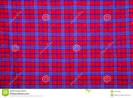 <b>Beautiful Red</b> Masai Blanket Stock Photo - Image of colourful, mara ...