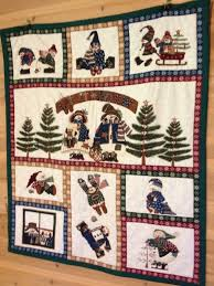 110 best Quilts/Tapestries for Christmas images on Pinterest ... & Handmade Snowman Quilt / Wall Hanging / Baby by TopLineCrafters, $65.00 Adamdwight.com