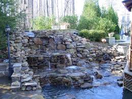 Small Picture Best Backyard Waterfall Ideas HOUSE DESIGN AND OFFICE