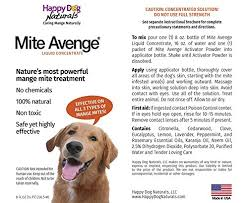 Amazon.com : Mite Avenge Sarcoptic Mange Mite Treatment for Dogs ...