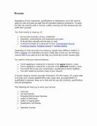 Current Resume Inspirational Recent Resume Format Elegant Free