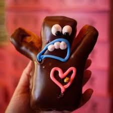 photo of voodoo doughnut portland or united states voodoo man donut had