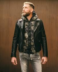 pierre balmain leather moto jacket destroyed jeans duvetica down jacket