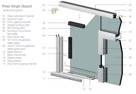 these flush looking double glazed partitions can be fitted with glass doors timber doors double glazed doors and sliding doors smart glass and integral
