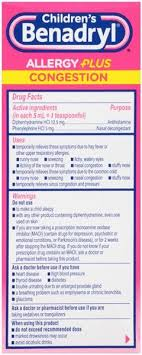 children s benadryl allergy and sinus dosage chart awesome how many children039s