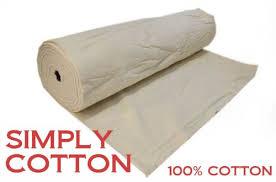 SIMPLY COTTON 100% COTTON 120  BATTING/WADDING QUILT CRAFT ... & SIMPLY COTTON 100% COTTON 120