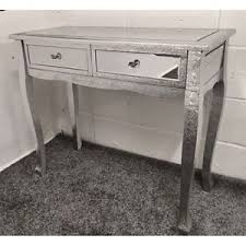 silver hall table. Image Is Loading Silver-Metal-Embossed-Mirrored-Slim-Leg-Dressing-Console- Silver Hall Table