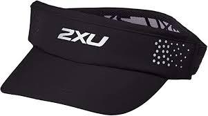 2XU Unisex <b>Performance Visor</b>-UQ5346f Visor, Black, One Size ...