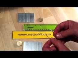 a parison of 16 gauge and 18 gauge brad nails