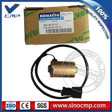 pc100 6 pc200lc 6 komatsu excavator solenoid valve 206 60 51131 pc100 6 pc200lc 6 komatsu excavator solenoid valve 206 60 51131