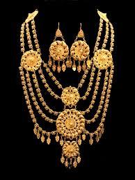 gold necklace set 21k necklace set 506