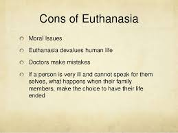 euthanasia pro and cons essay the pros yes and cons no of euthanasia debate org