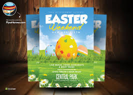 15 Easter Flyer Psd Images - Free Easter Flyer Psd Templates, Easter ...