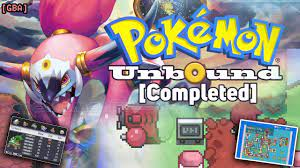 Pokemon Unbound Completed version - The Best GBA Hack ROM in 2020 is  released, Let's play bro! - YouTube