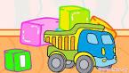 Машинки мультфильм раскраска