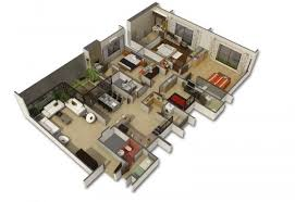 3 Bedroom Apartment In Dubai Creative Collection Cool Decoration