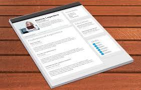 Great Resume Template Linkedin Resume Mycvfactory