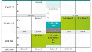 University Timetable Maker Hagley College Student Timetable