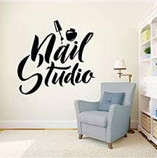 <b>Wall Sticker</b> Nail Art Polish Beauty Salon Decor Manicure <b>Pedicure</b> ...