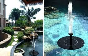 floating solar fountain solar water fountain pump solar water pump for pond solar water floating solar fountain