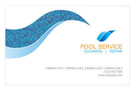 pool cleaning logo. Unique Pool Business Cards Swimming Pool Logo Design Cleaning Service With