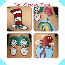 themed package fun dr seuss face painting ideas hat truffula tree