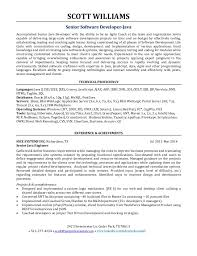 Resume Template Google Gorgeous Scott Allen Williams R Sum Senior Java Software Developer Agile