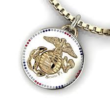 marine corps pendant