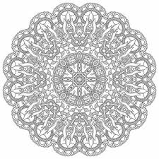 Mandala Da Colorare Difficilissimi Mandala Difficili Da Colorare