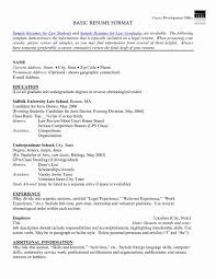 How To Write A Simple Resume Format Pdf Make Effective Good
