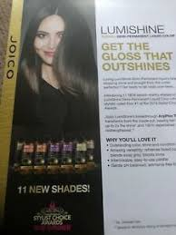 Details About Joico Vero Lumishime Color Chart Tech Guide 11 New Shades