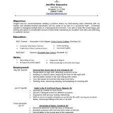 What To Put Under Objective On A Resume Fascinating Mye On Resume How Do I Write What Should In Put As 17