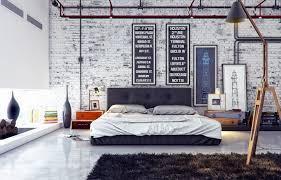 White Brick Wall Masculine Designs