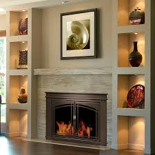 Pleasant Hearth - Fenwick Glass Firescreen Oil Rubbed Bronze: GHP ...