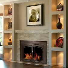 pleasant hearth fenwick glass firescreen oil rubbed bronze ghp group inc