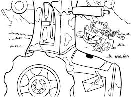 Tractor Coloring Pages Printable Farm Coloring Pages Footage Mater
