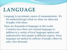 importance of english language language