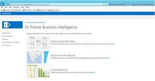 Create Sharepoint Site Template Sharepoint 2013 Business Intelligence Essentials En Pointe