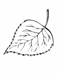 Leaf Coloring Pages Fall Leaves Coloring