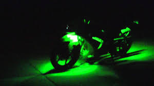 Led Lights For Ninja 250r 2012 Ninja 250r Led Light Kit Dont Let Beginning Fool U Keep Watching